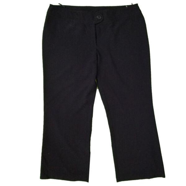 Fekete rugalmas nadrág