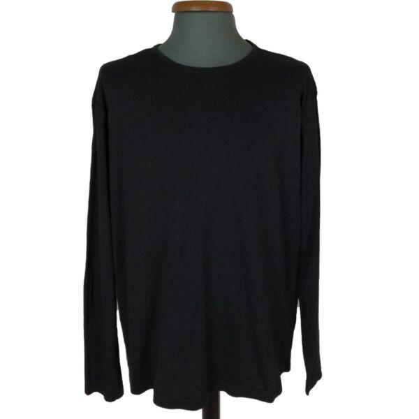 Fekete hosszú ujjú póló