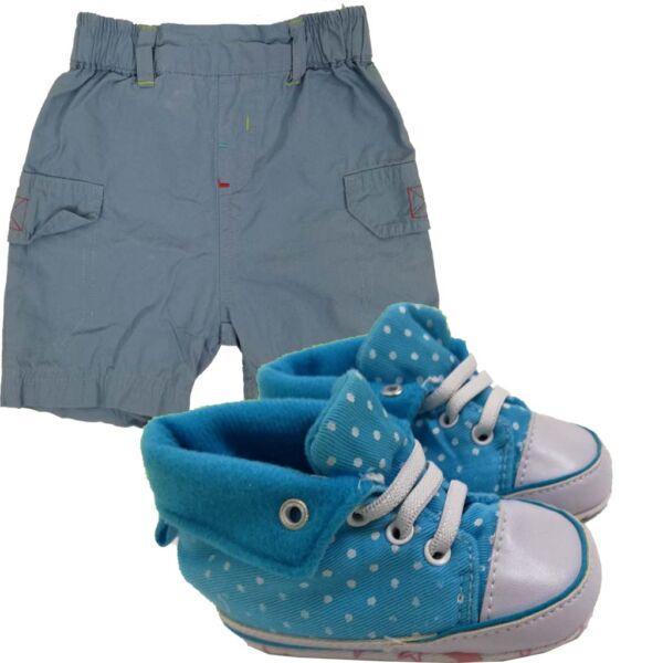 Kiscipő+rövidnadrág