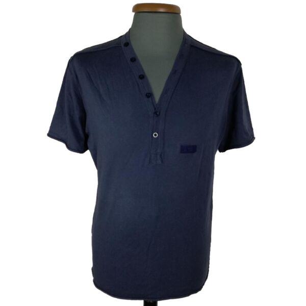 Kék férfi póló