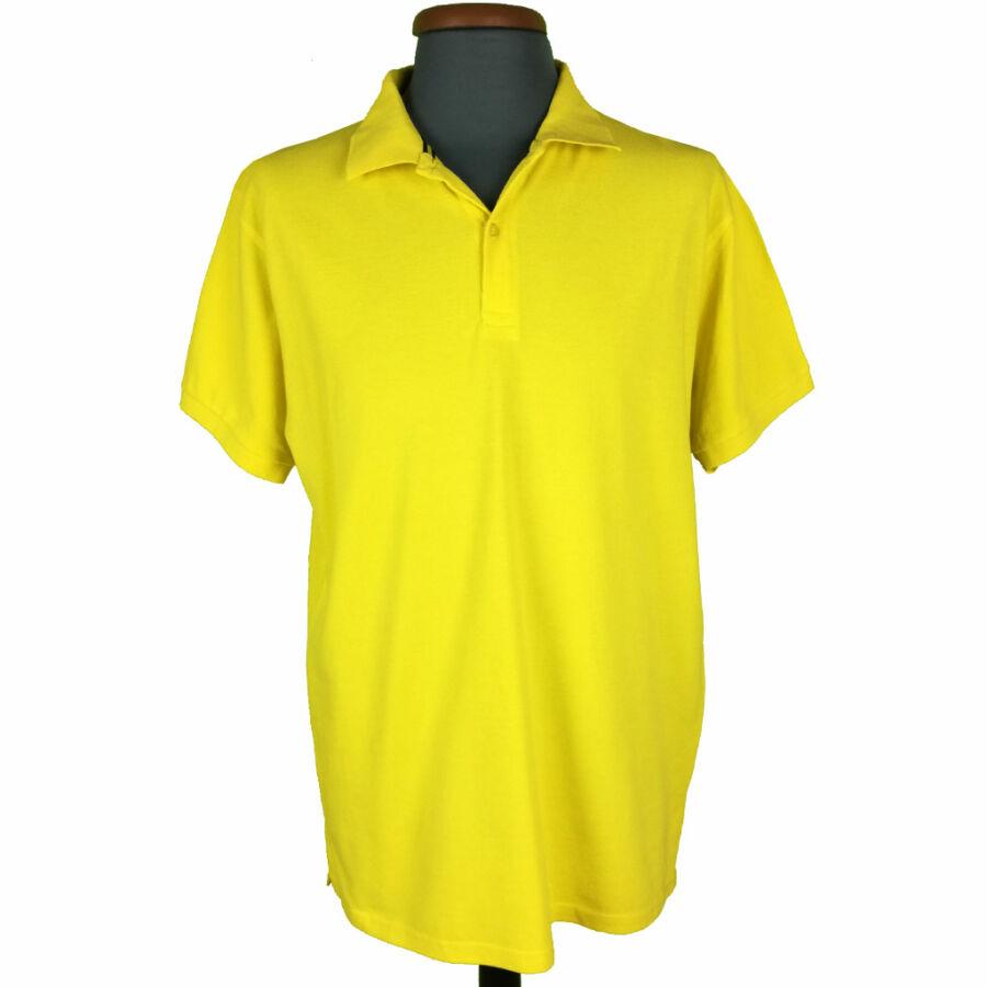 Citromsárga férfi póló