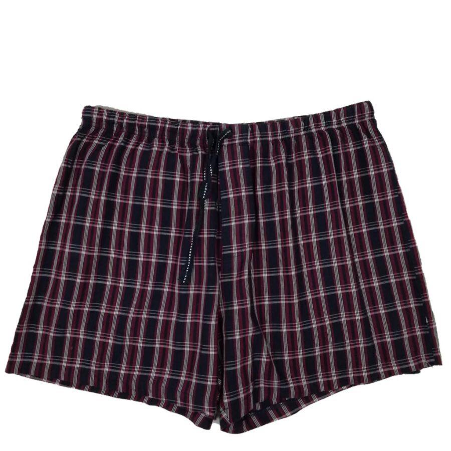 Kockás férfi rövidnadrág